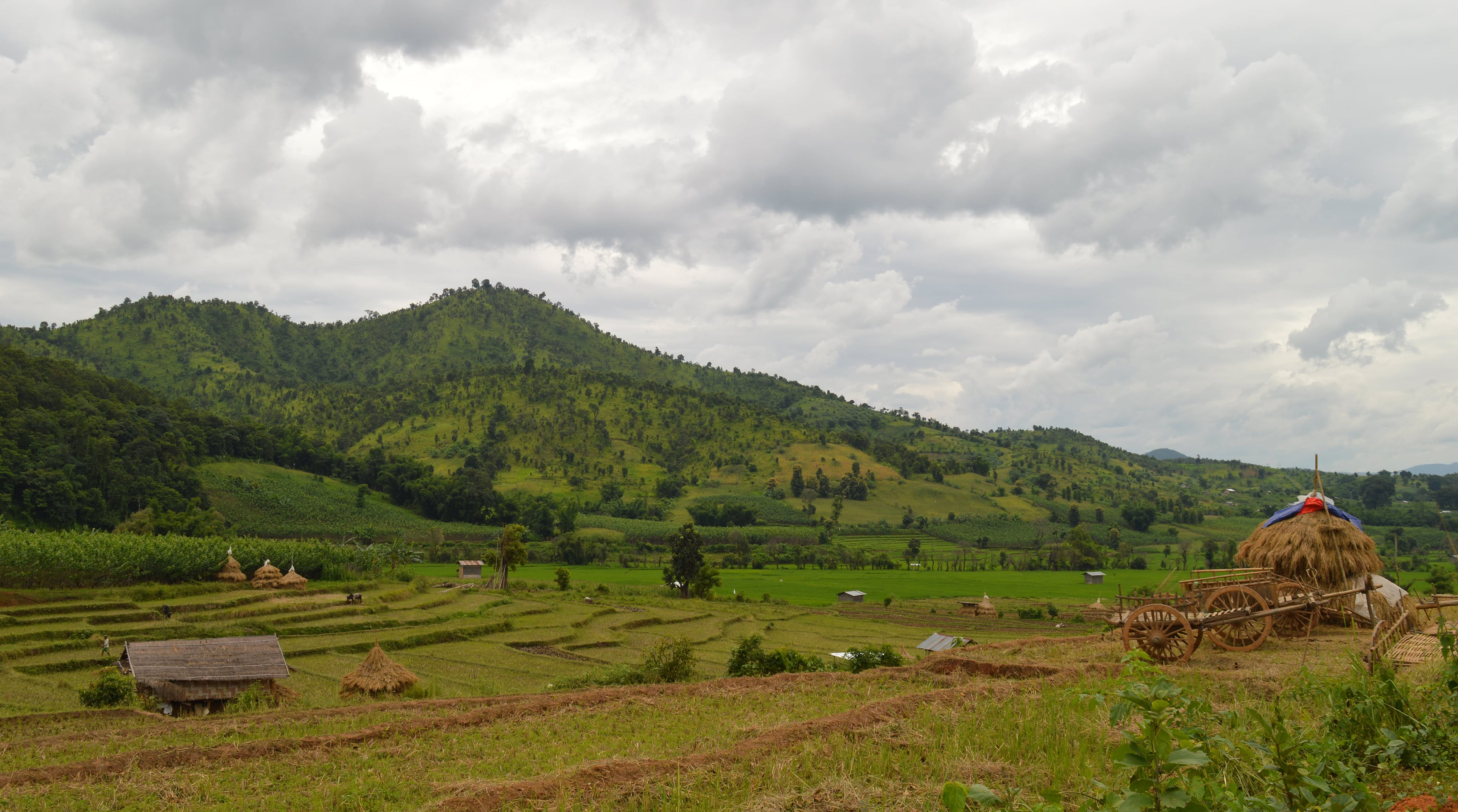 Inle to thale Oo trekking 2