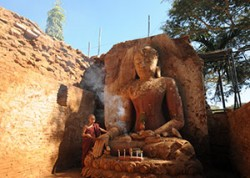 Buddha image in Mandalay