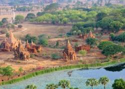 Bagan Pagoda view