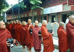 Monks in Mogok