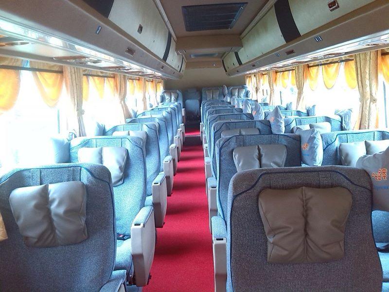 Bus Transportation in Myanmar