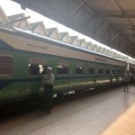 Myanmar city train