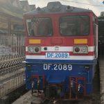 Train from Yangon to Mandalay